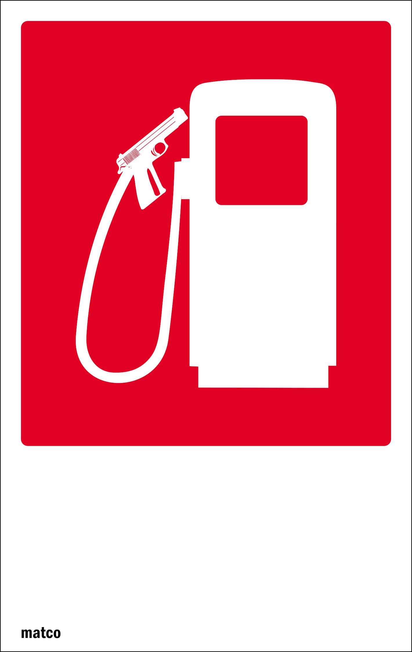 Pompa di benzina si spara