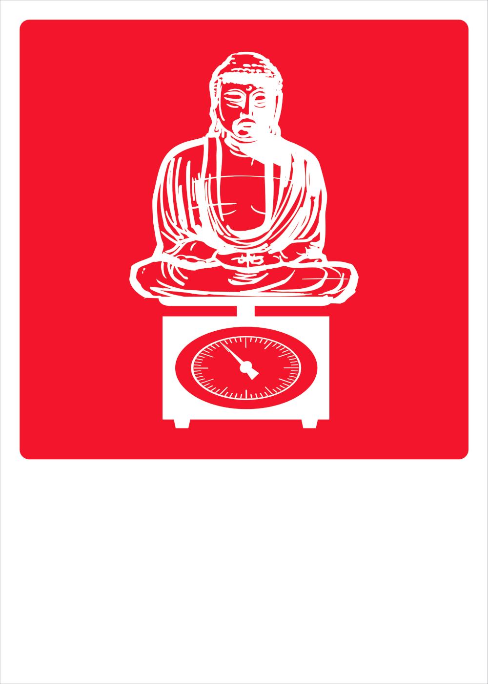 Budda su bilancia