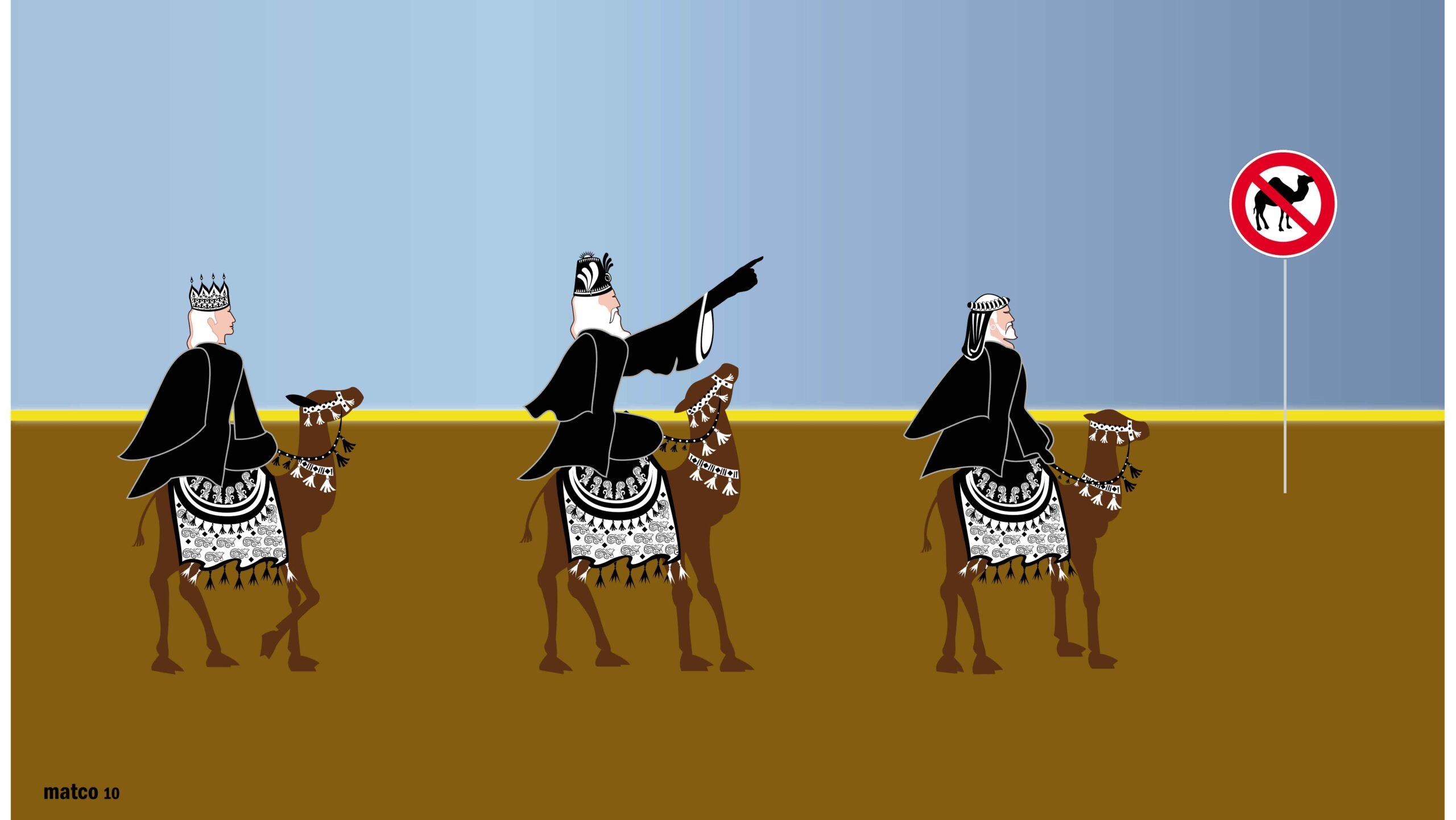 ban of transit for camel