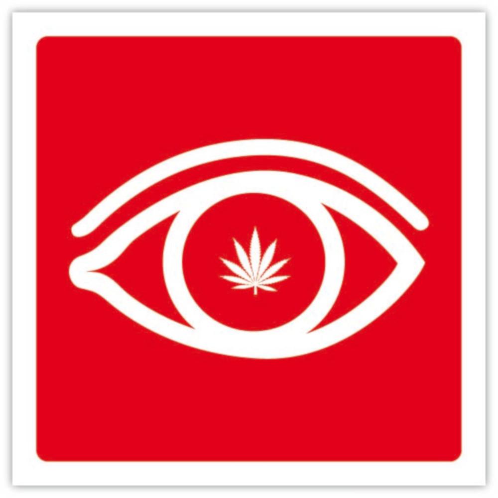 occhio con marjuana