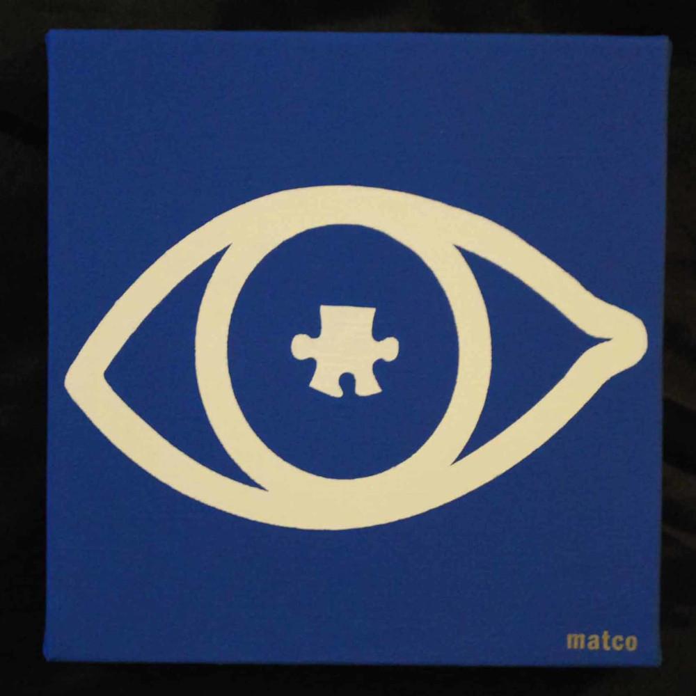 occhio con puzzle